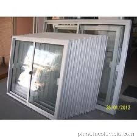 Aluminio ventanas puertas vidrios y cortinas en engativ tel fono - Cortinas para puertas de aluminio ...