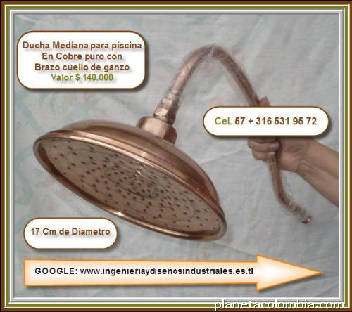 Accesorios ba o cobre y bronce en cali tel fono for Duchas grival colombia