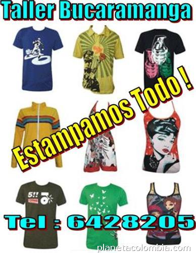 Estampado camisetas Bucaramanga  teléfono 4fca97f3d4953