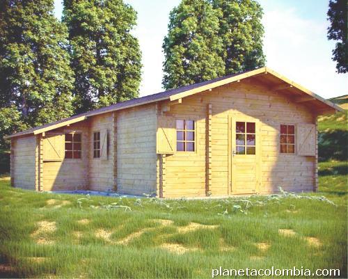 Fotos de caba as y casas de madera prefabricadas en cali - Casas y cabanas de madera ...