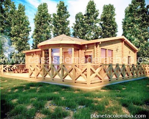 Fotos de caba as y casas de madera prefabricadas en cali - Fotos casas de madera prefabricadas ...