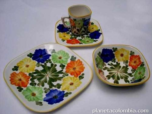 fotos de vajillas de el carmen ceramicas esmaltarte en