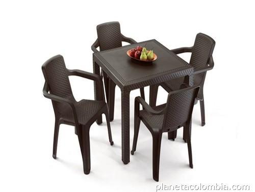 Fotos de muebles pl sticos rimax en teusaquillo for Muebles de terraza de plastico