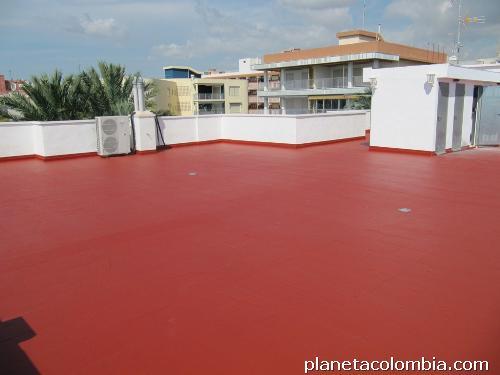 Fotos de pintura para pisos epoxicos y o poliuretano for Pintura para pisos colores