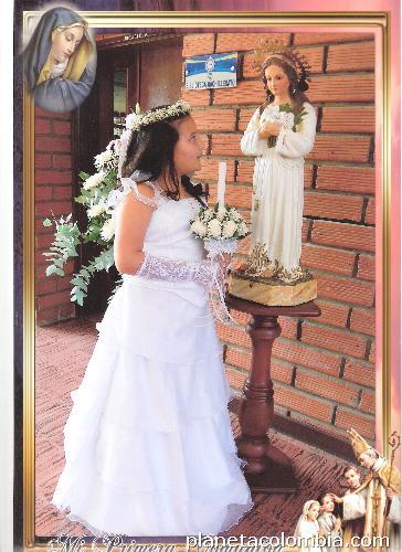 Tiendas de vestidos para primera comunion en bogota