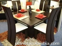 Fotos de sillas de comedor modernas en cedro en bucaramanga for Sillas para comedor modernas bogota