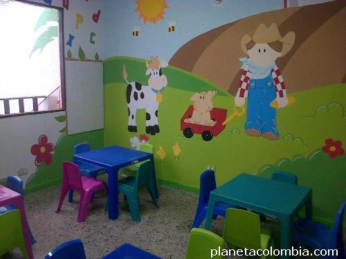 Fotos de pintor murales infantiles y arte country en santa for Murales infantiles