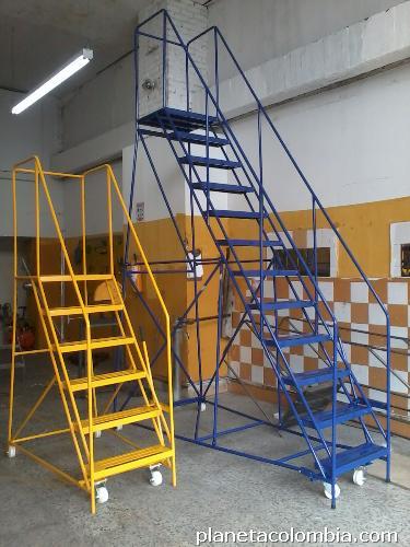 Fotos de escaleras para bodega tipo avi n - Tipo de escaleras ...