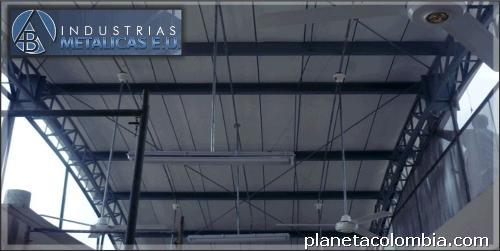 Estructuras Metálicas Para Mezanine Y Cubiertas En