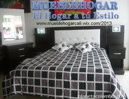 Muebles: Juego De Alcoba Luz Tapizada en Cali: teléfono