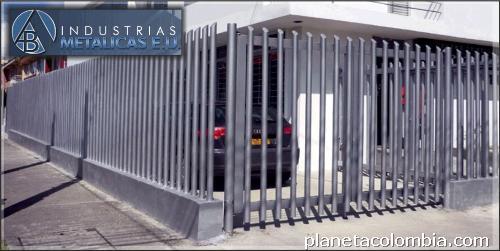 Fotos de cerramientos en malla tubo y varilla - Fotos de puertas metalicas para casas ...