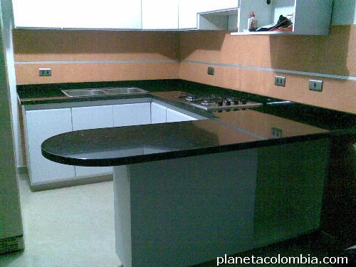 Granitos m rmol grupo integral cali tel fono for Precios de cocinas integrales en bogota colombia