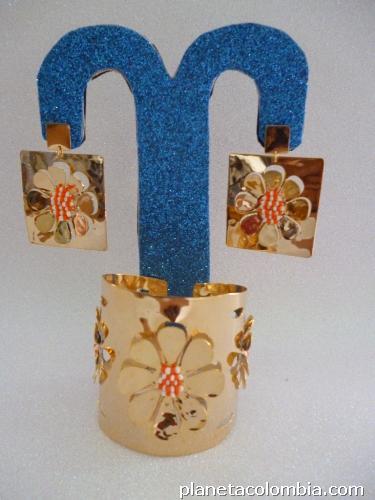 Venta de collares pulseras brazaletes aretes en bronce for Accesorios bano bronce