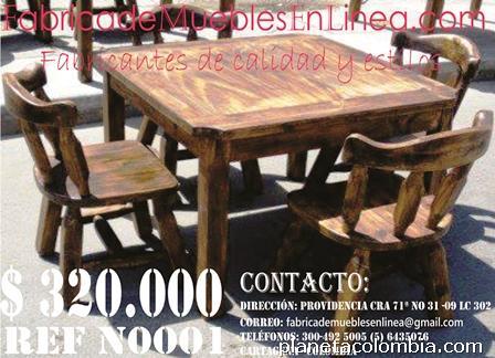 Fotos de juego de comedor para bar restaurante cafeter a - Muebles baratos en cartagena ...