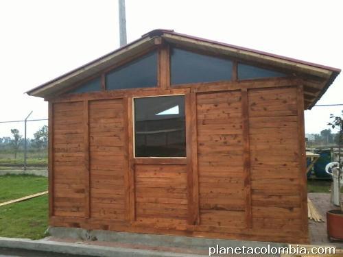 Fotos de f brica de caba as y casa de madera eco colombia - Fabricantes de casas de madera ...