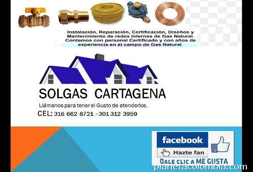 Fotos de solgas instalaciones gas natural en cartagena for Imagenes de gas natural