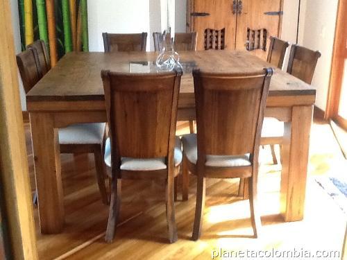 Vendo muebles r sticos perfecto estado y muy buen precio en suba tel fono - Muebles rusticos precios ...