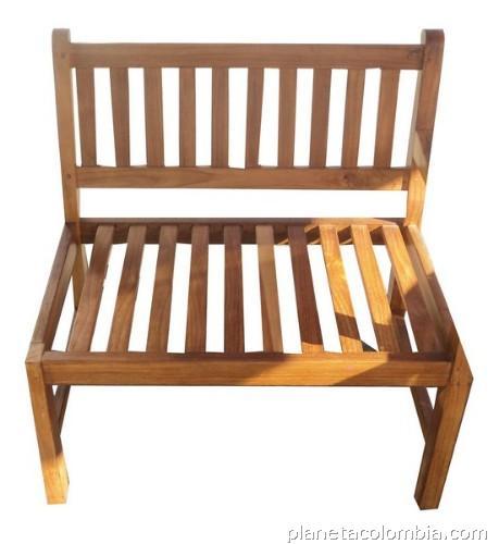 Sillas en madera para exteriores en kennedy tel fono for Sillas de madera para exterior