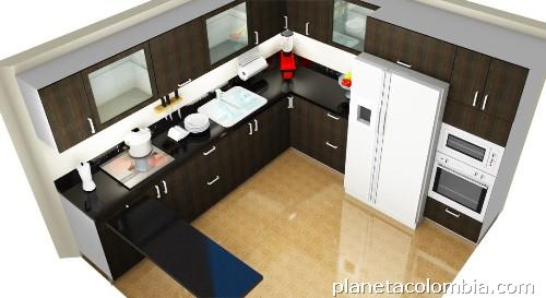 Cocinas integrales dise o personalizados en chia tel fono - Disenos cocinas integrales ...