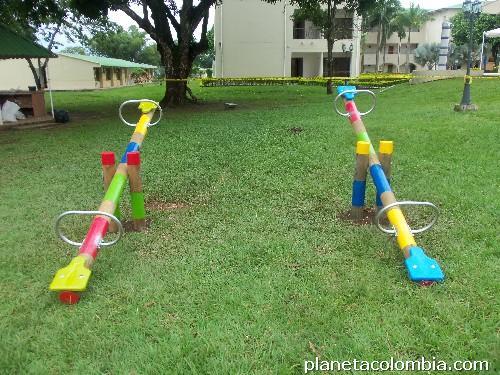 juegos para parques infantiles en meta en