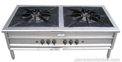 Estufas a gas estufas el ctricas estufas industriales for Estufas industriales cali