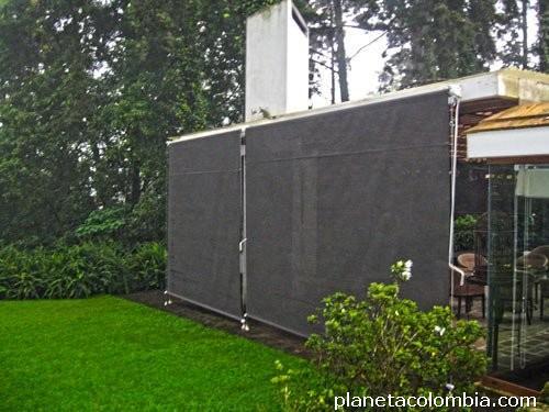 Toldos para exterior dise os arquitect nicos - Toldos verticales para exterior ...