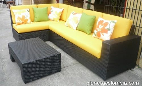 Fotos de fabricaci n de muebles en de mimbre en fibra - Muebles fibra sintetica ...