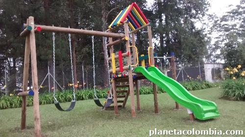 Juegos Infantiles En Madera Inmunizada En Medellin Y Antioquia Te L